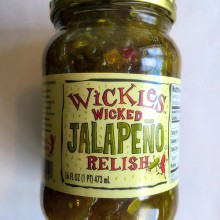 Wicked Jalepeno Relish