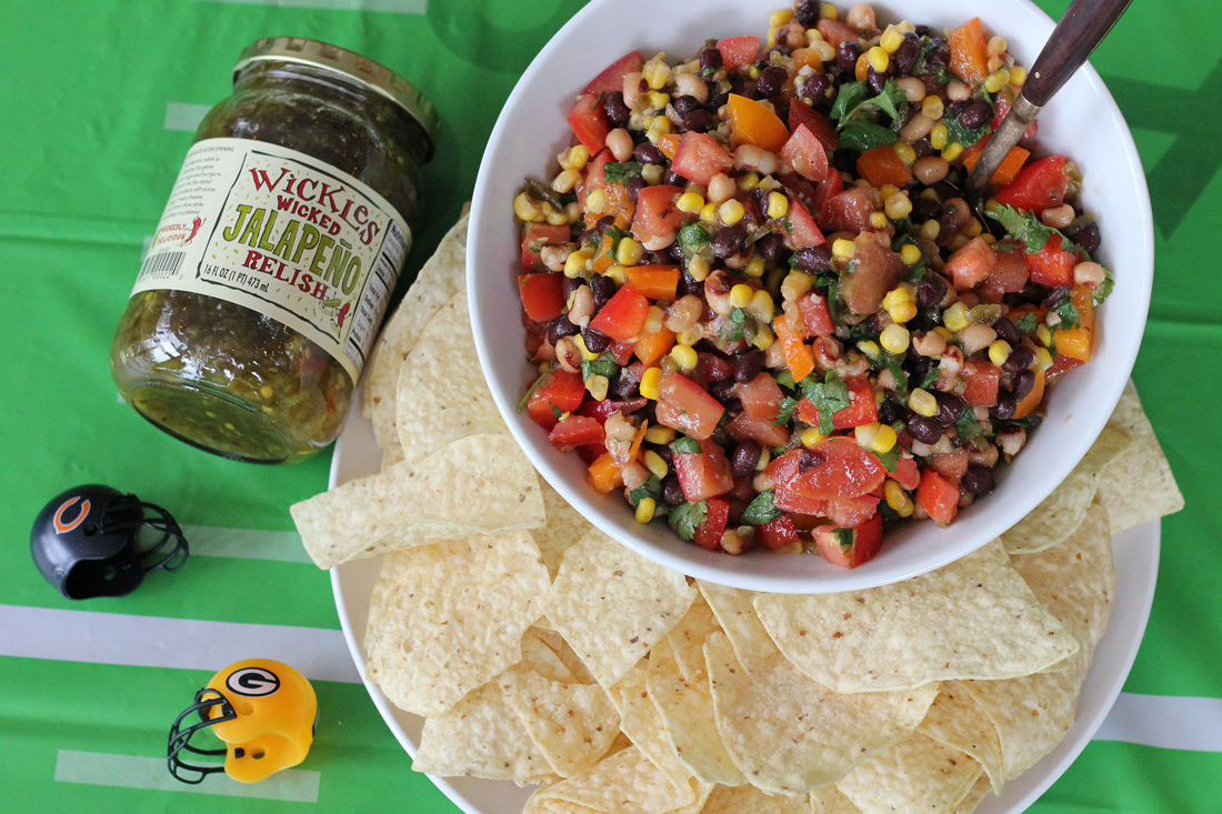 Cowboy Caviar With Red Wine Vinegar