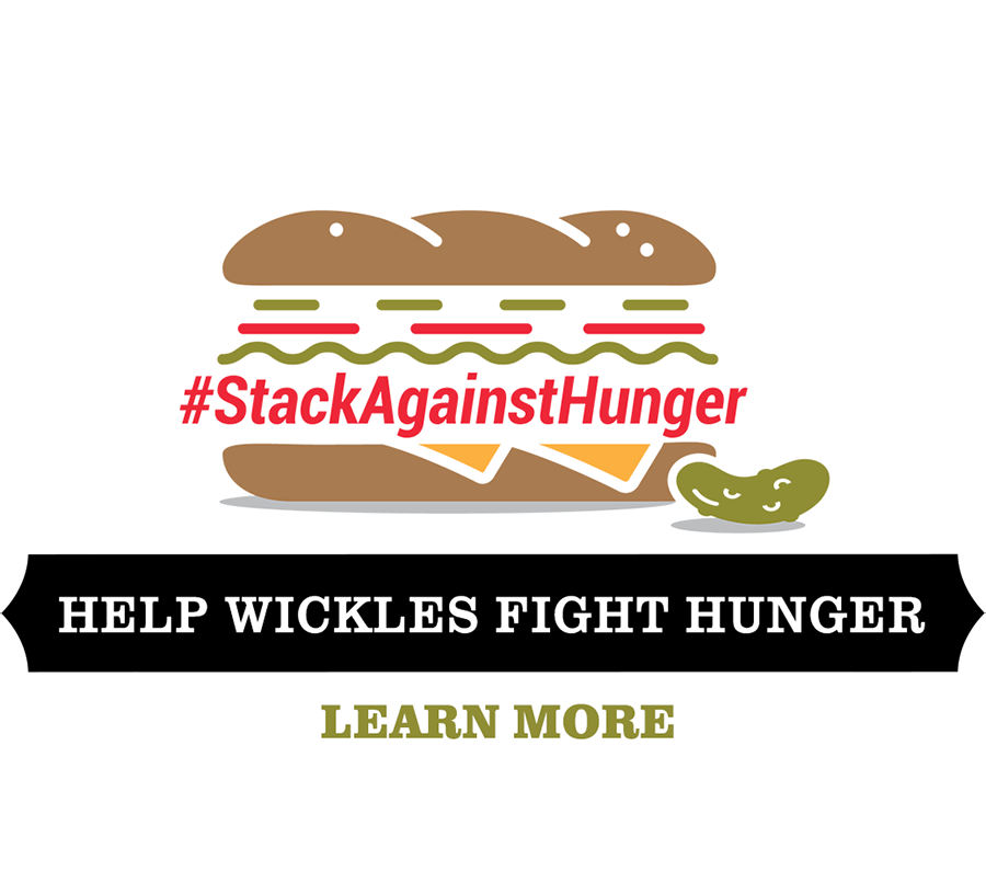 Stack Against Hunger Logo and Button
