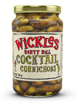 Wickles Dirty Dill Cornichons