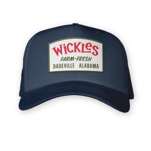 Product photo of the navy farm fresh trucker hat